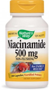 Nature's Way Niacinamide 500mg 100caps