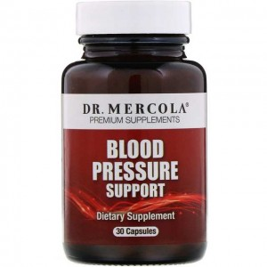 Blood Pressure Support 30kaps. Dr Mercola Wyciąg z pestek winogron