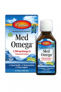 MedOmega 2700mg Omega-3! 100ml Carlson Laboratories