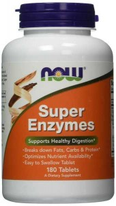 Super Enzymes Now Foods 180tabletek Now Enzymy