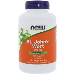 St. John's Wort  Now Foods 300 mg 250 kaps.