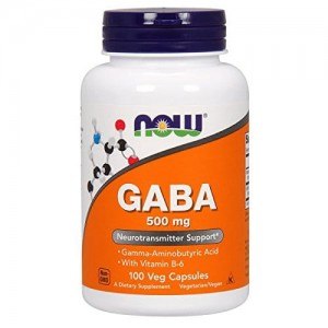 GABA 500mg 100kaps. Now Foods