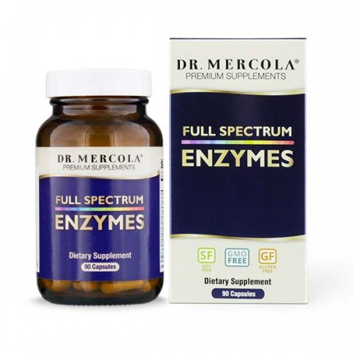Full Spectrum Enzymes  Dr Mercola 90 kapsułek