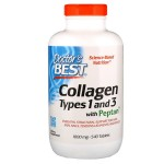 Kolagen Typ 1&3 1000mg Doctor's Best 540kaps. Collagen