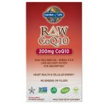Raw CoQ10 200mg 60caps Garden Of Life Raw