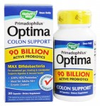Nature's Way Primadophilus Optima Colon Support Max Bifido 90 Billion Active Probiotics 30kaps.