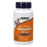 Ubichinol 200mg  60 kapsułek Now Foods Ubichinon Kaneka QH Ubiquinol