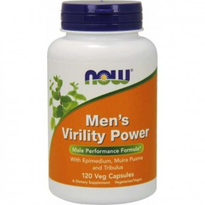 Mens Virility Power  120kapsułek Now Foods