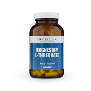 Treonian Magnezu Magnez Dr Mercola 90 kapsułek L-Treonian Magnesium Threonate Magtein