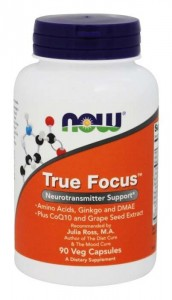 True Focus 90 kaps. Now Foods
