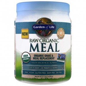 Raw Organic Meal Garden Of Life 519g