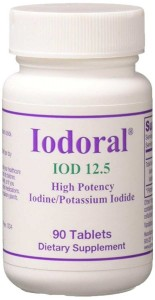 Jodoral Jod 12.5mg 90 tabletek Optimox Iodoral