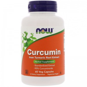 Curcumin  665mg Now Foods 60kaps Kurkumina