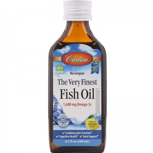 The Very Finest Fish Oil 1600mg 200ml Carlson Laboratories Olej z Ryb
