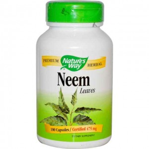 Neem Miodla Indyjska 475mg 100kaps. Nature's Way