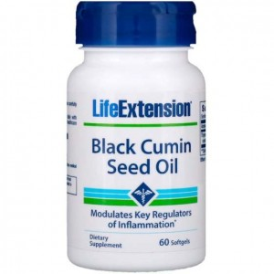 Life Extension, Black Cumin Seed Oil 60 kaps.