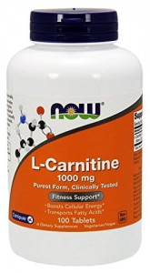 L-Karnityna 1000mg Now Foods 100tabl. L-Carnitine