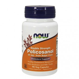 Policosanol 20mg Now Foods 90kaps.