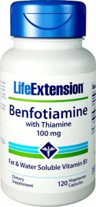 Life Extension Benfotiamine 100mg 120 kaps.