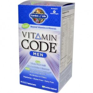 Vitamin Code Men 120kaps. Garden of Life Multiwitaminy