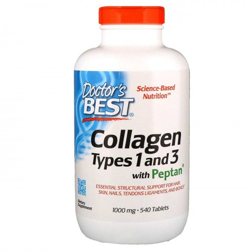 Collagen Types 1 and 3 with Peptan 1000mg 540 tabs.