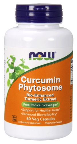Curcumin Phytosome Now Foods 500mg 60caps