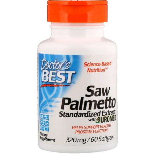 Saw Palmetto - 320mg Doctor's Best 60 kaps.