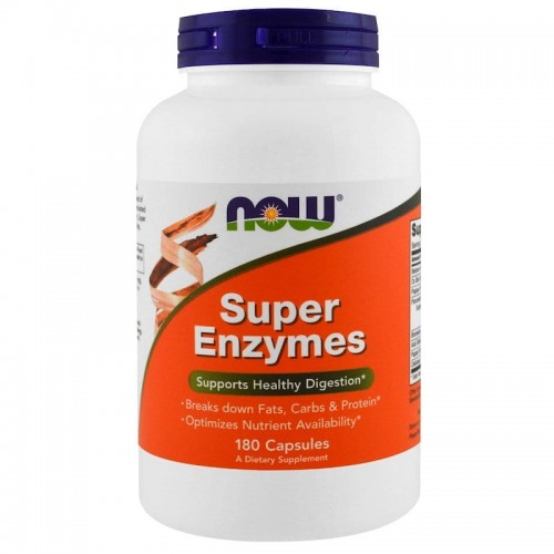 Super Enzymes Now Foods 180kaps. Enzymy